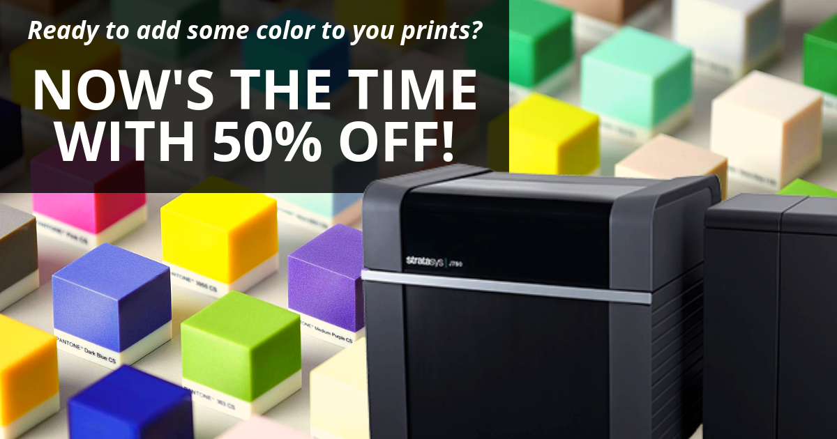 Image of Upgrade to PANTONE Color Printing and Save 50%