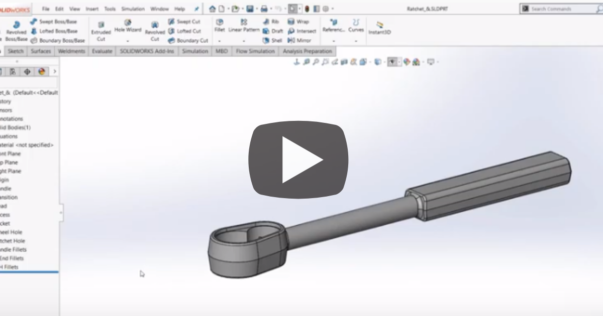 Image of Extrude Options in SOLIDWORKS