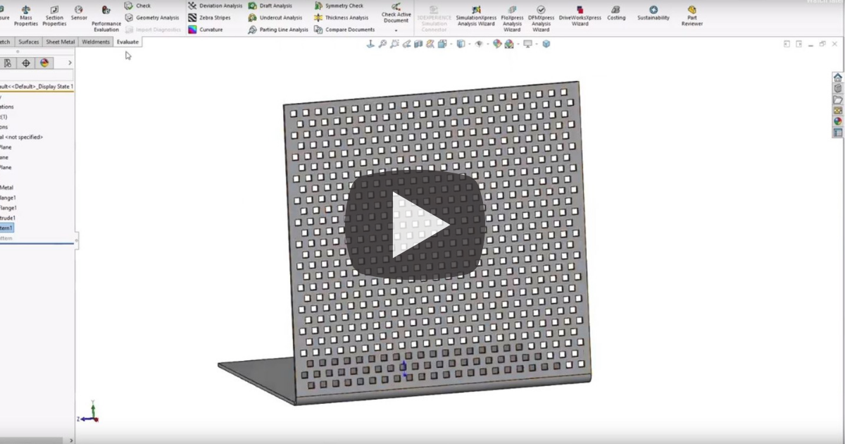 Image of All You Need to Know About the Geometry Pattern in SOLIDWORKS
