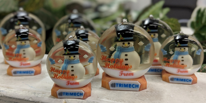 The Story of the TriMech 2018 Holiday Ornament