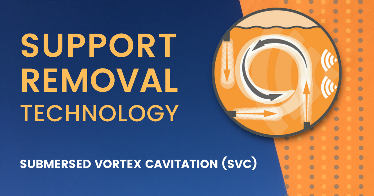 Support Removal Using SVC Technology