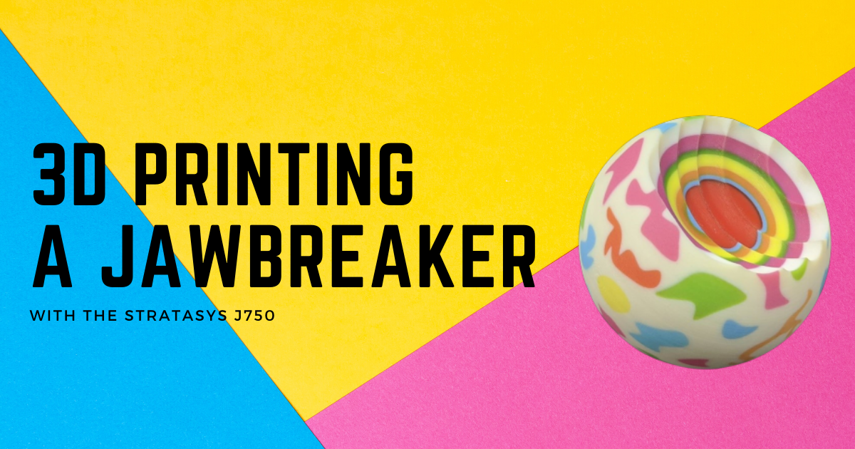 Learning About Part Priority by 3D Printing Jawbreakers