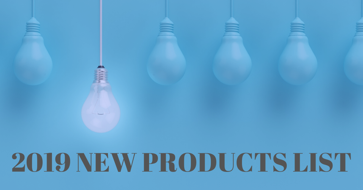 Image of Product Launches and Updates in 2019: The Complete List