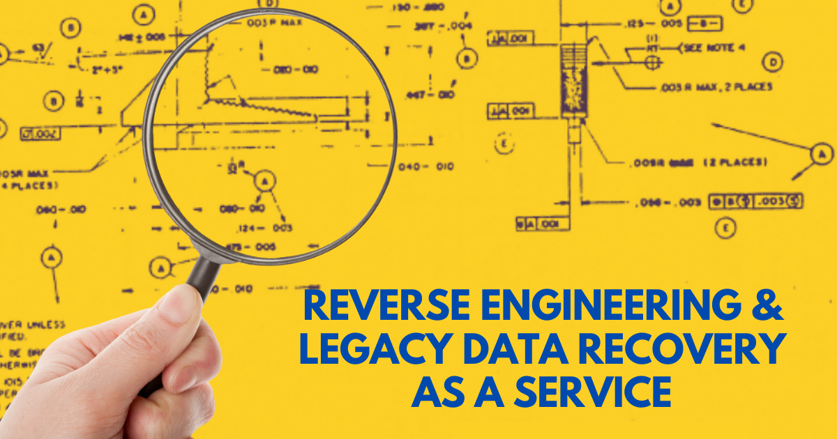Reverse Engineering and Legacy Data Recovery as a Service