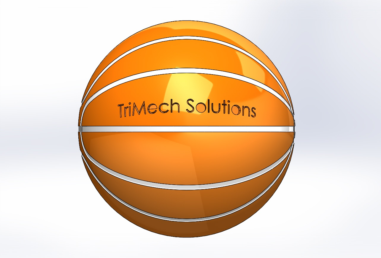 TriMech vs Wilson: March Madness Basketball Rendering in SOLIDWORKS