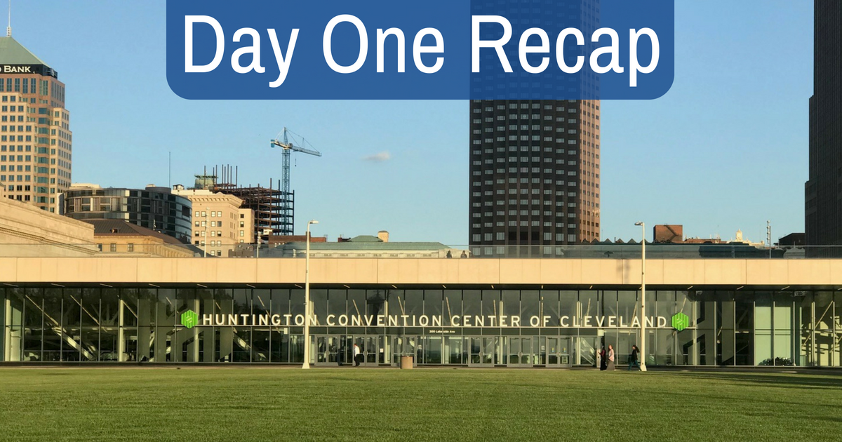 CAASE18 Day 1 Recap