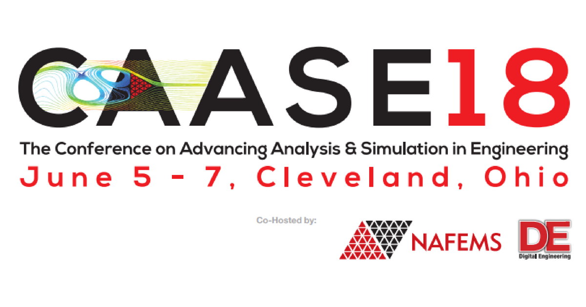 The Conference on Advancing Analysis & Simulation in Engineering 2018
