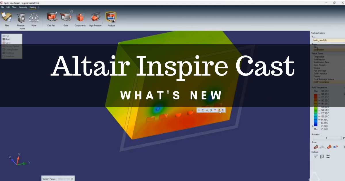 What's New With Altair Inspire Cast