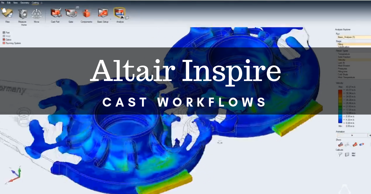 What You Can Do With Altair Inspire Cast