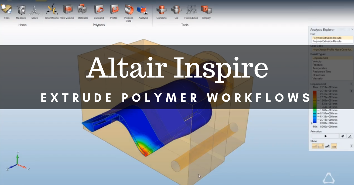 What You Can Do With Altair Inspire Extrude Polymer