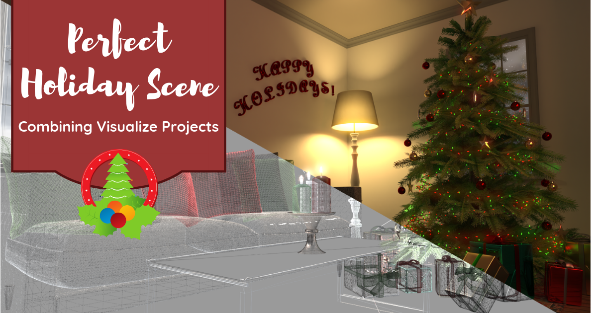 Combining Visualize Projects for the Perfect Holiday Scene