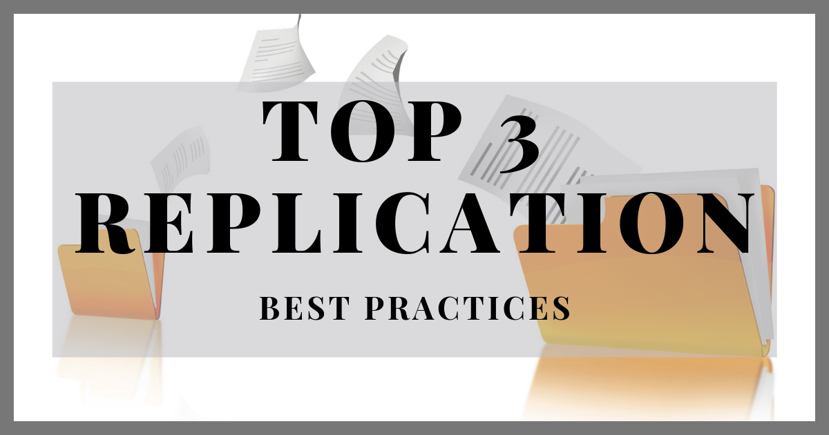 SOLIDWORKS PDM Professional: Top Three Replication Best Practices