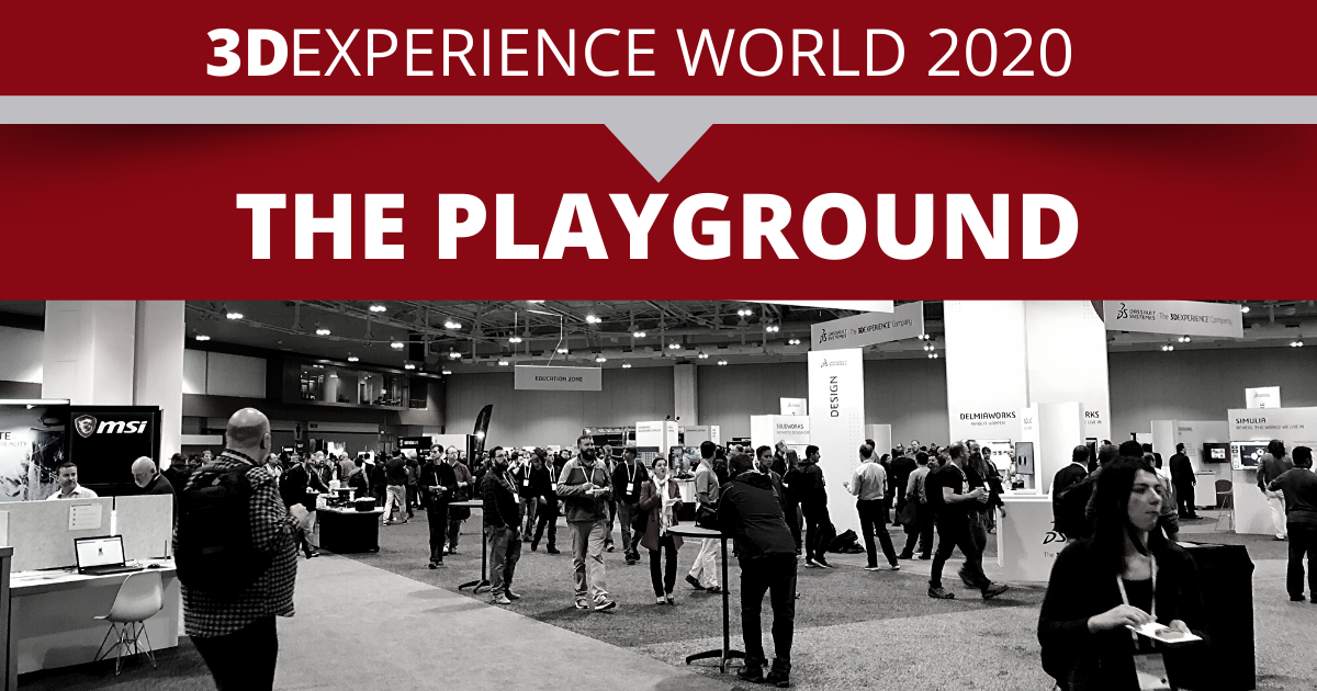 3DEXPERIENCE World 2020: Partner Playground