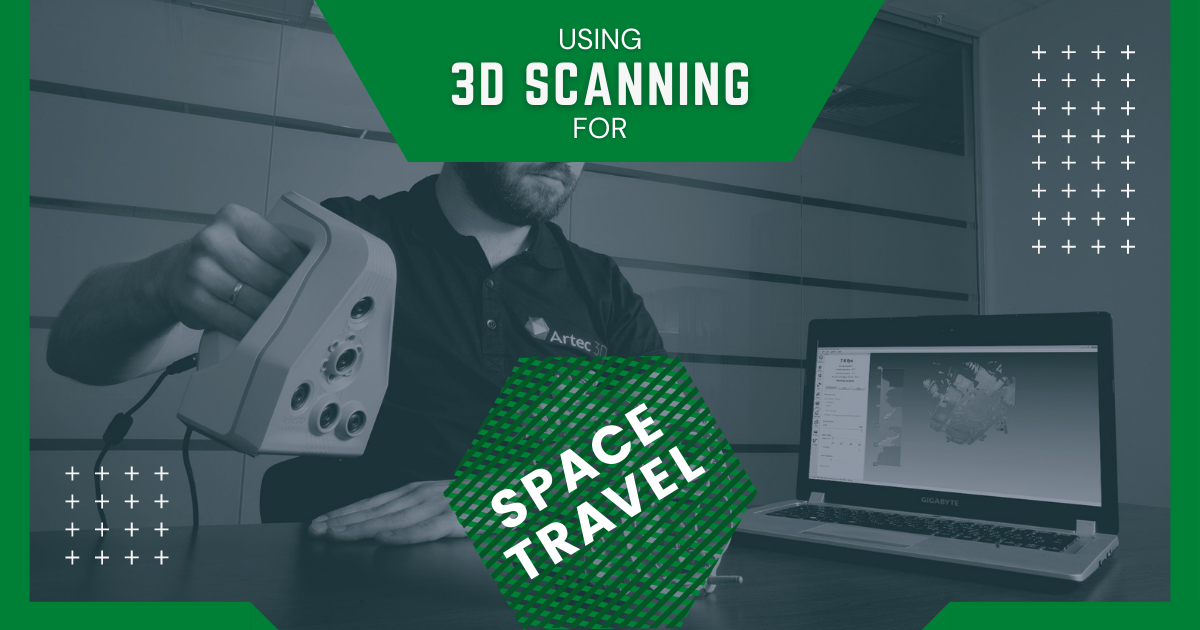 Using 3D Scanning in Space Travel