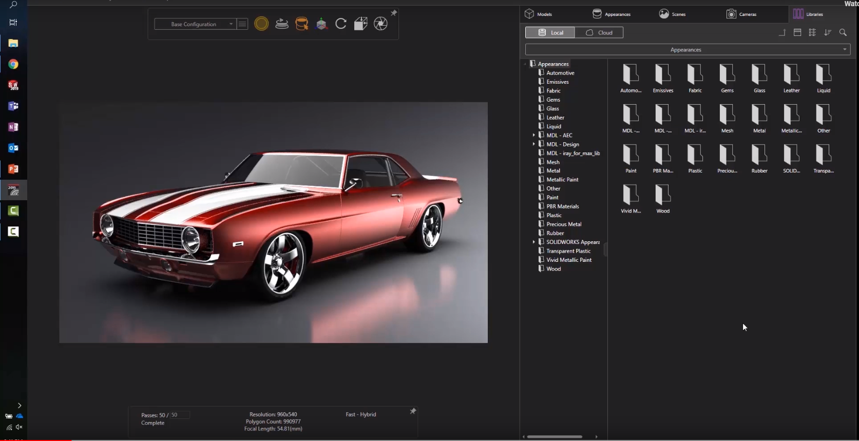 Image of First Look at the New Features and Tools in SOLIDWORKS Visualize 2019