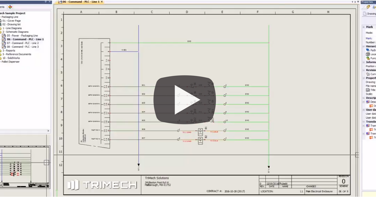 TriMech Video Tech Tips | Electrical Design
