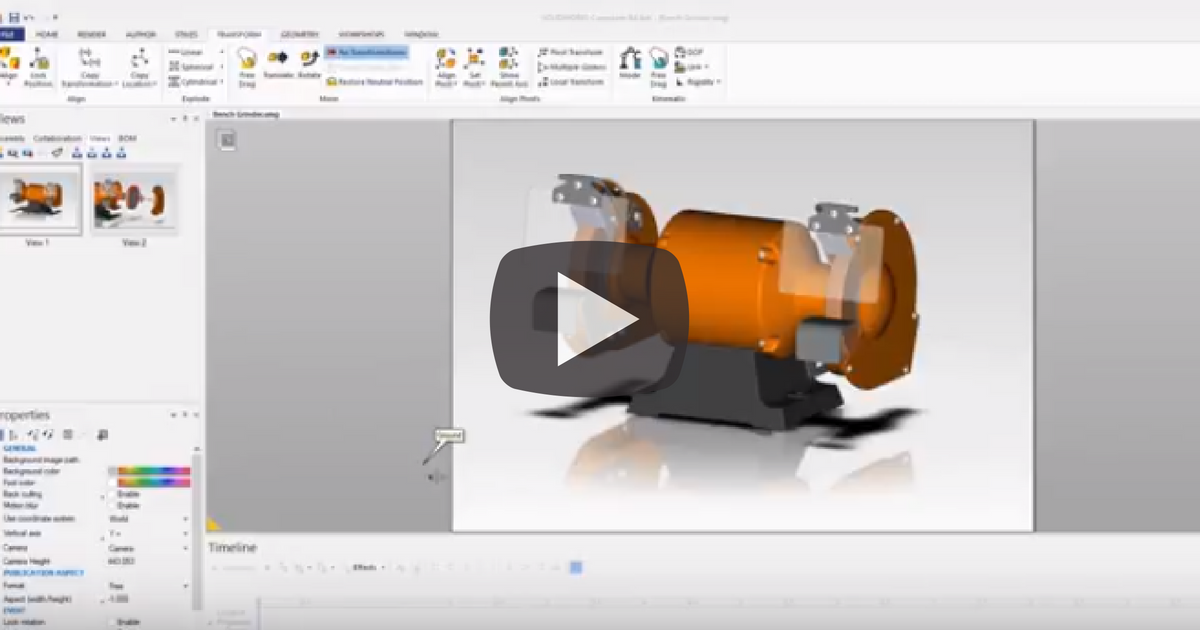 Creating Interactive Content With SOLIDWORKS Composer