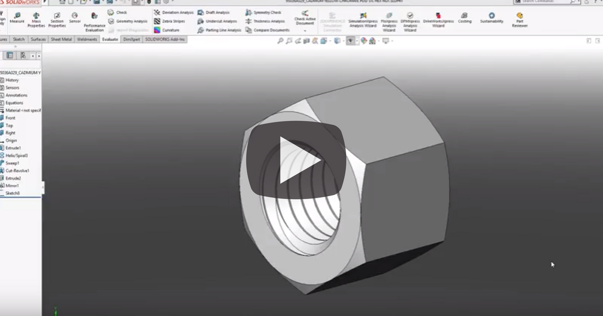 Image of Maximizing the Use of Manufacturer Parts in SOLIDWORKS