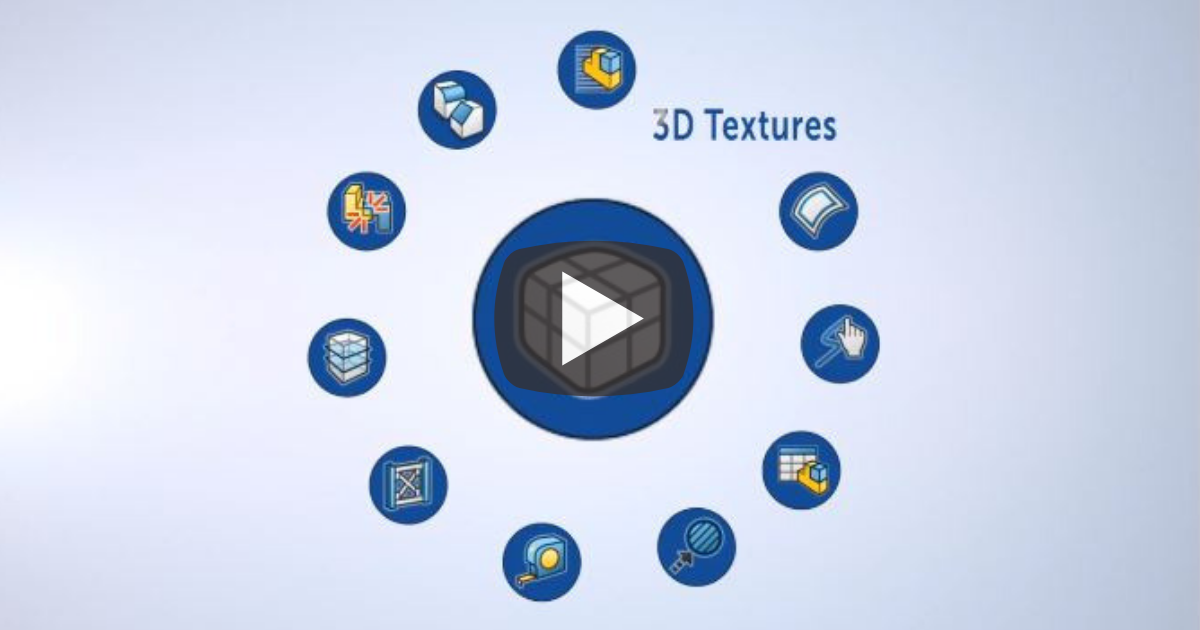 Image of 3D Textures in SOLIDWORKS 2019