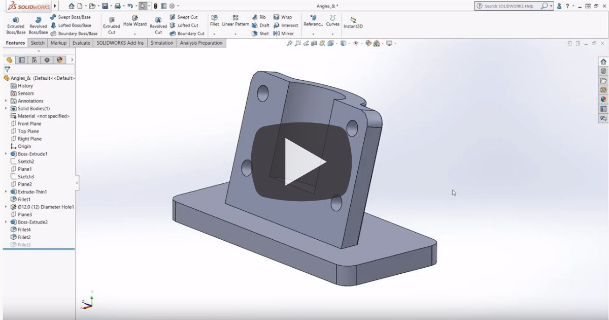 Image of A Closeup Look At The Status Bar In SOLIDWORKS