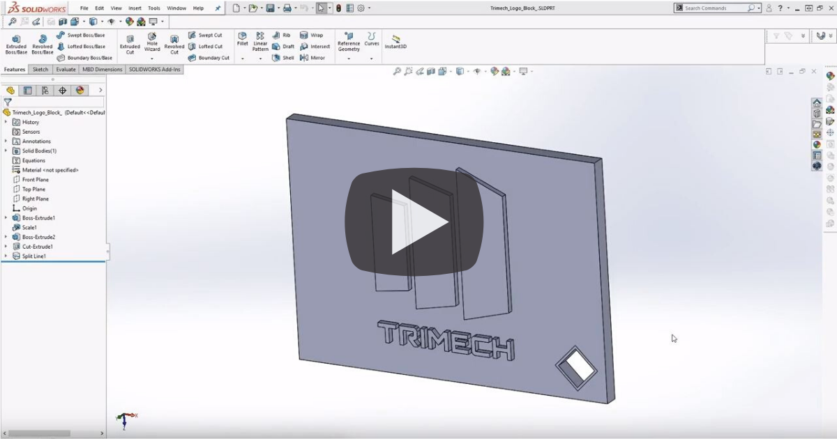 Image of Creating Textures for 3D Printing Parts Using SOLIDWORKS