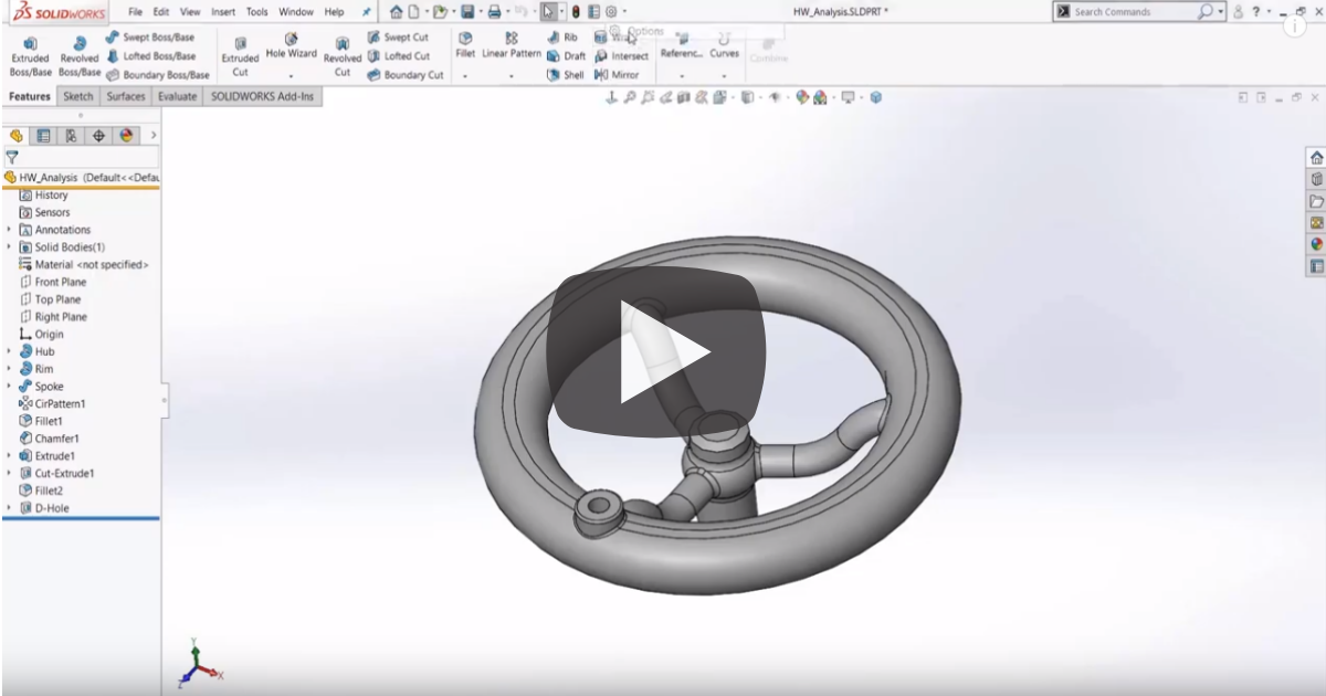 Image of Display Customization in SOLIDWORKS