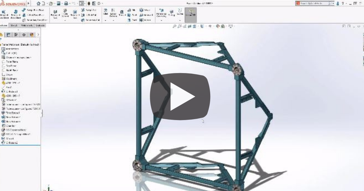 Image of Interference Detection for Multi-body Parts Modeling in SOLIDWORKS 2019