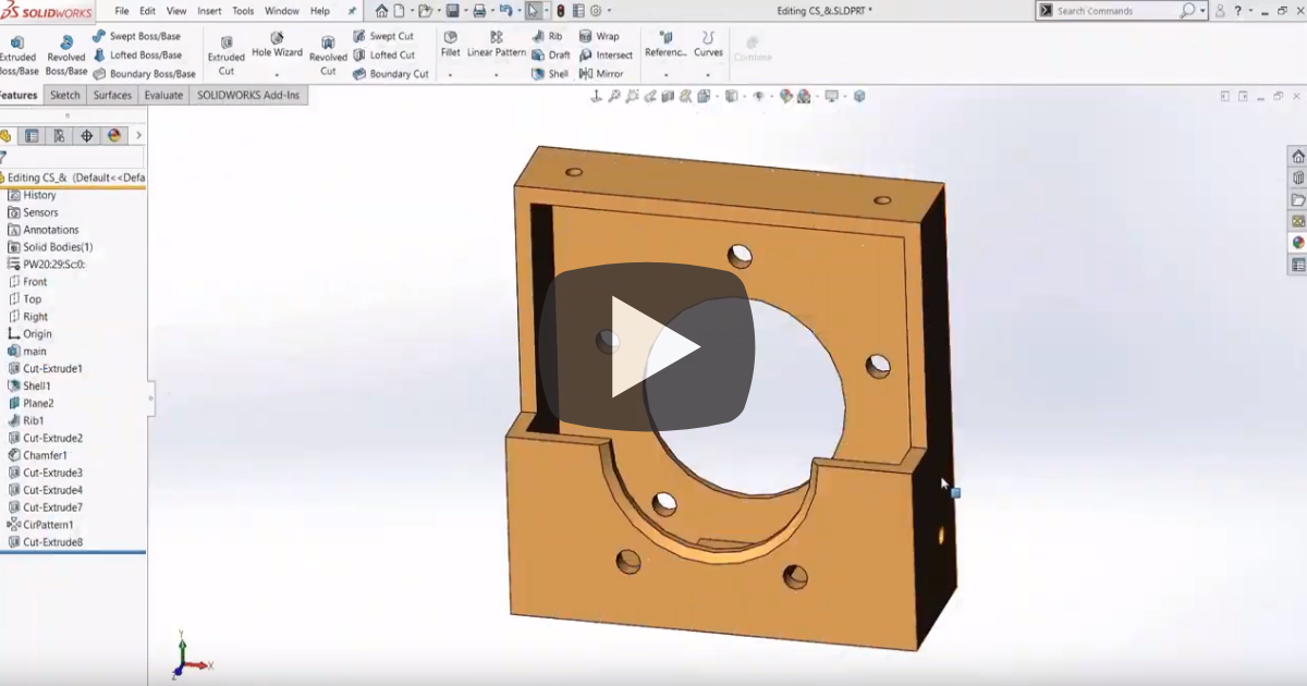 Image of Introducing FilletXpert in SOLIDWORKS