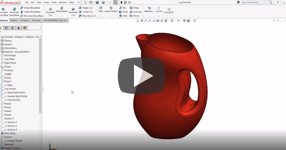 Undo Mistakes With the Reload Command in SOLIDWORKS