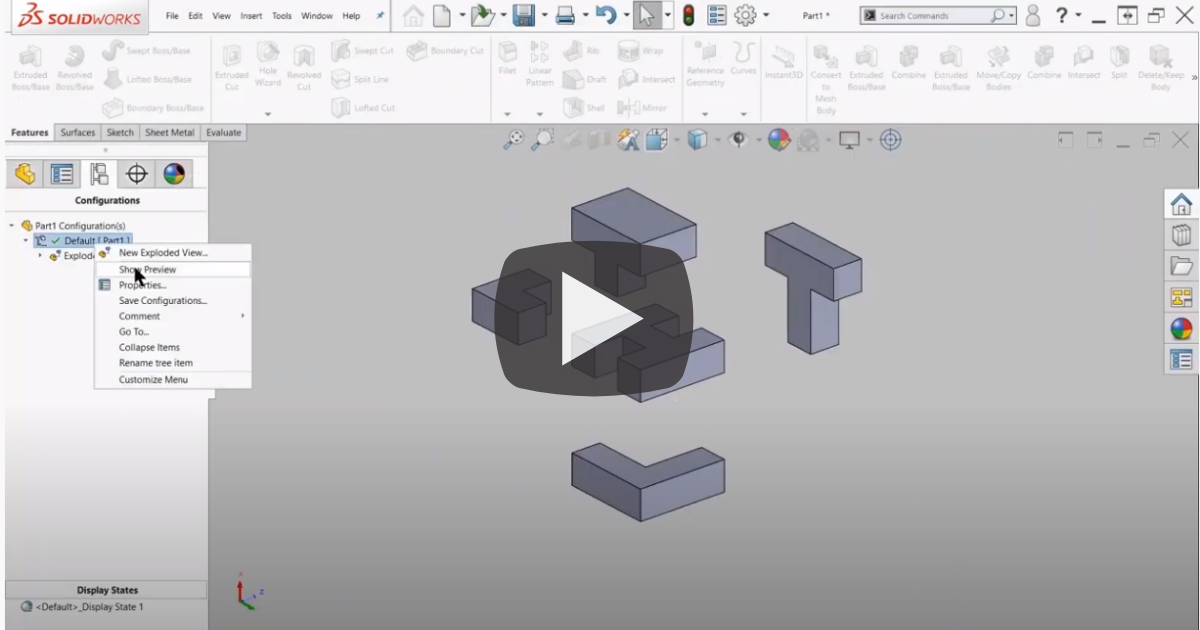 Image of Advanced Multibody Modeling in SOLIDWORKS