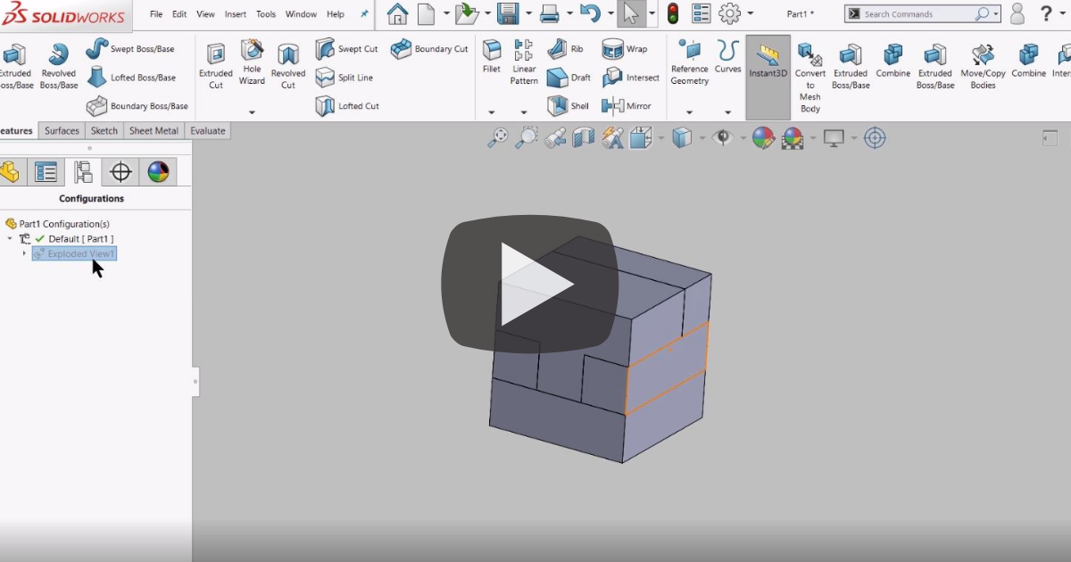 Image of Getting Started with Multibody Modeling in SOLIDWORKS