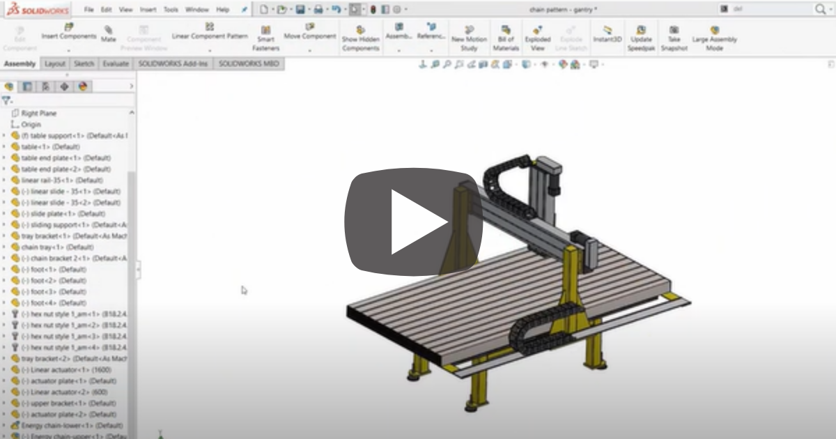 Image of Organizing Your Files in the SOLIDWORKS Feature Tree