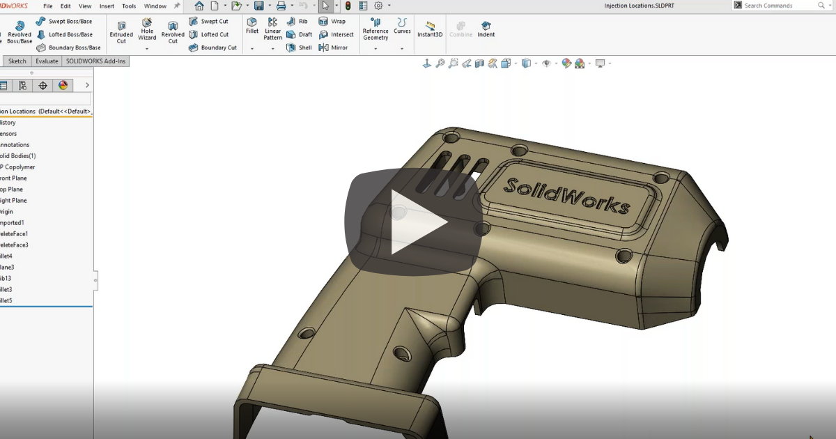 Image of SOLIDWORKS 2020 SP3.0 User Interface Changes
