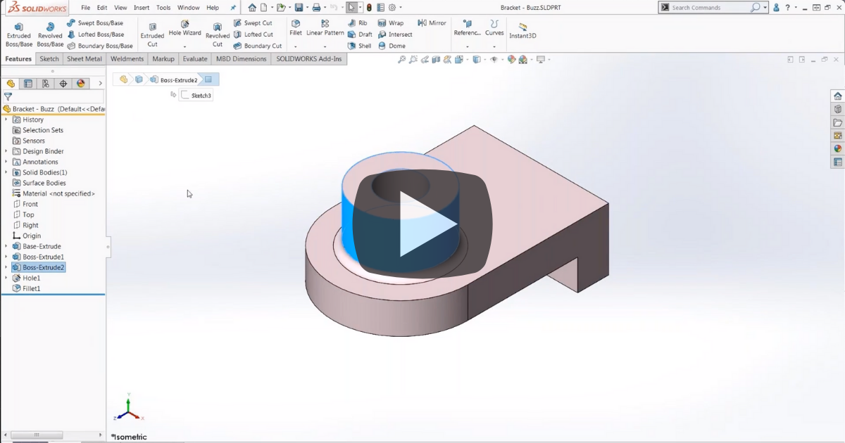 Image of Quick Tips: Copy, Paste, Drag and Drop in SOLIDWORKS