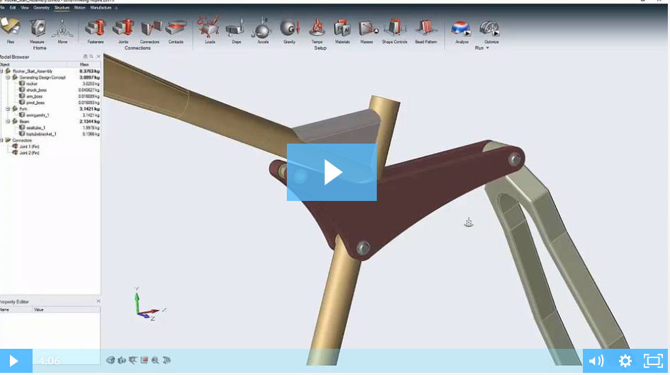 Image of Introduction to solidThinking Inspire