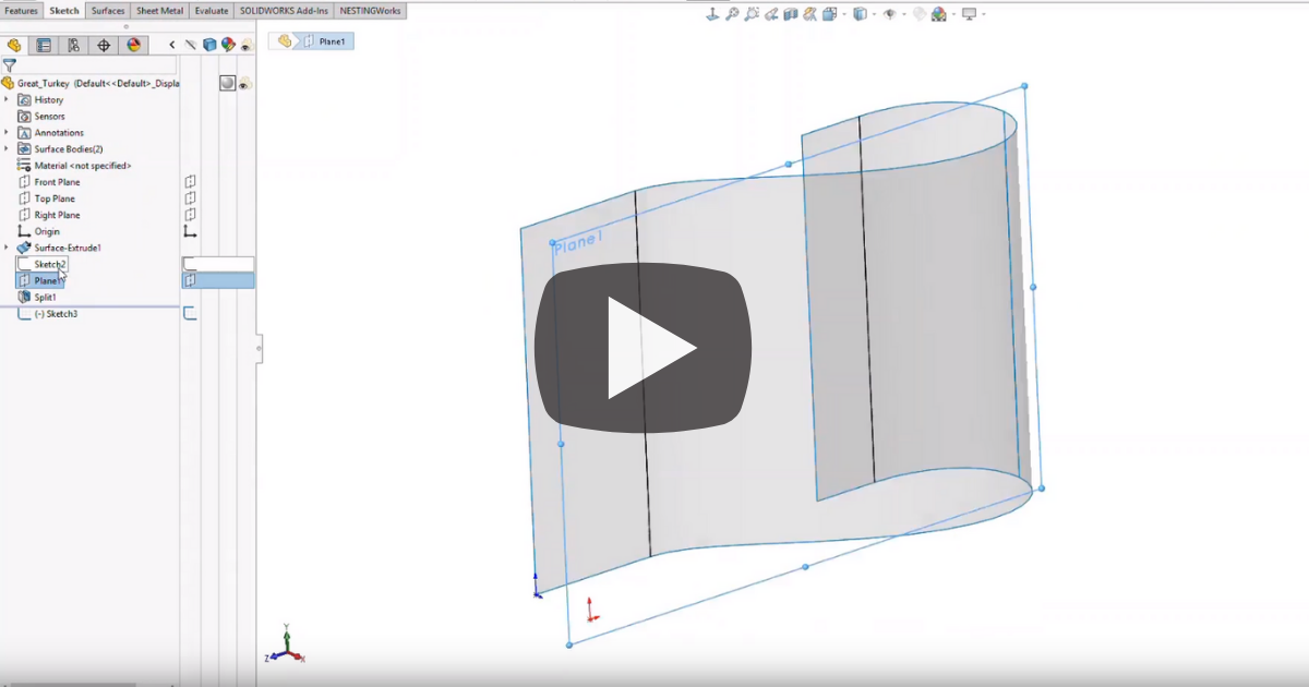 Image of Thanksgiving Crafts with SOLIDWORKS and NESTINGWorks